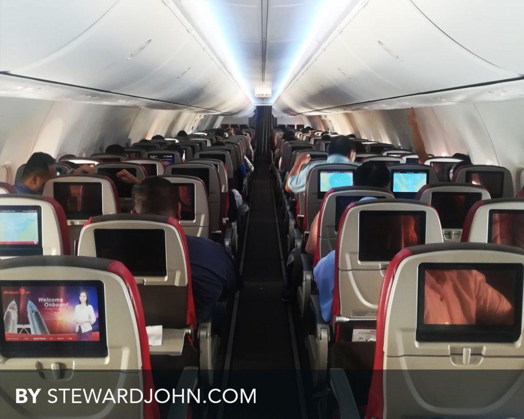 Malindo Air cabin