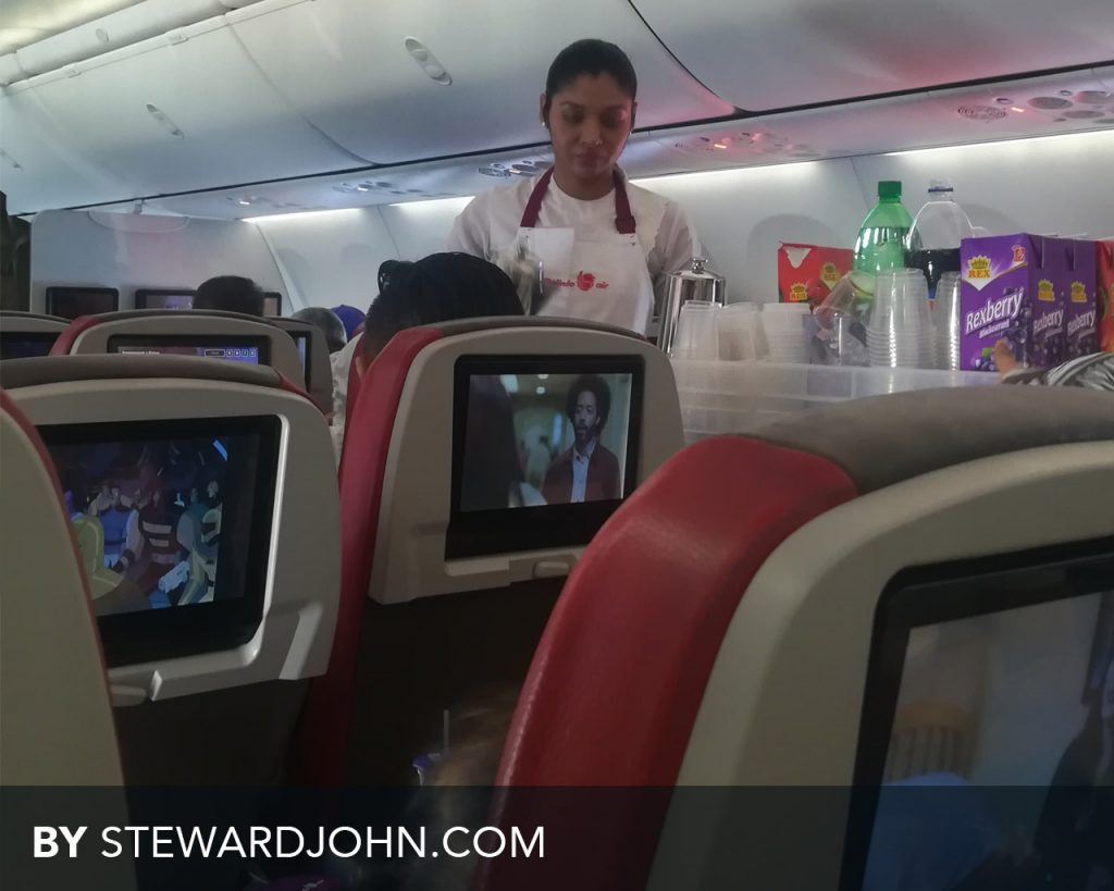 Malindo Air Inflight food service