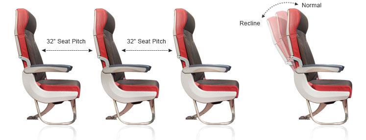 Malindo Air Seat