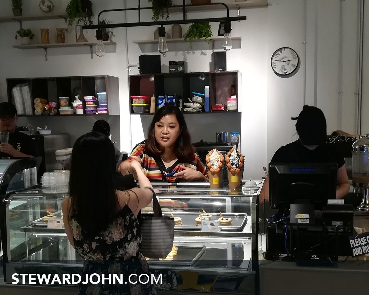 Joox cashier station