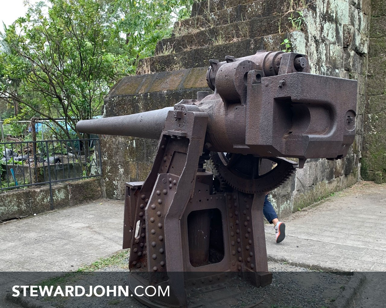 Cannon in Intramuros