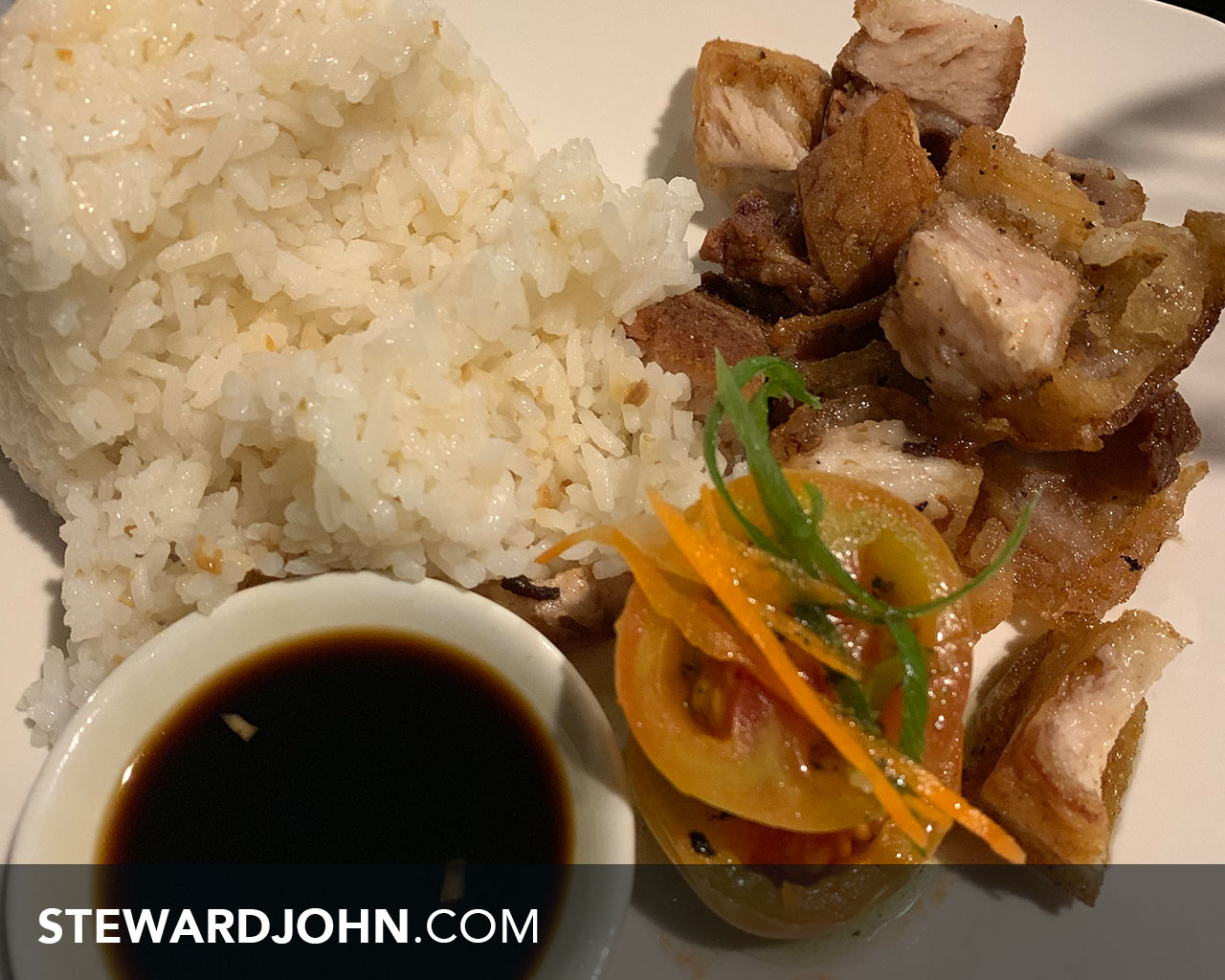Crispy pork belly - PHP 132