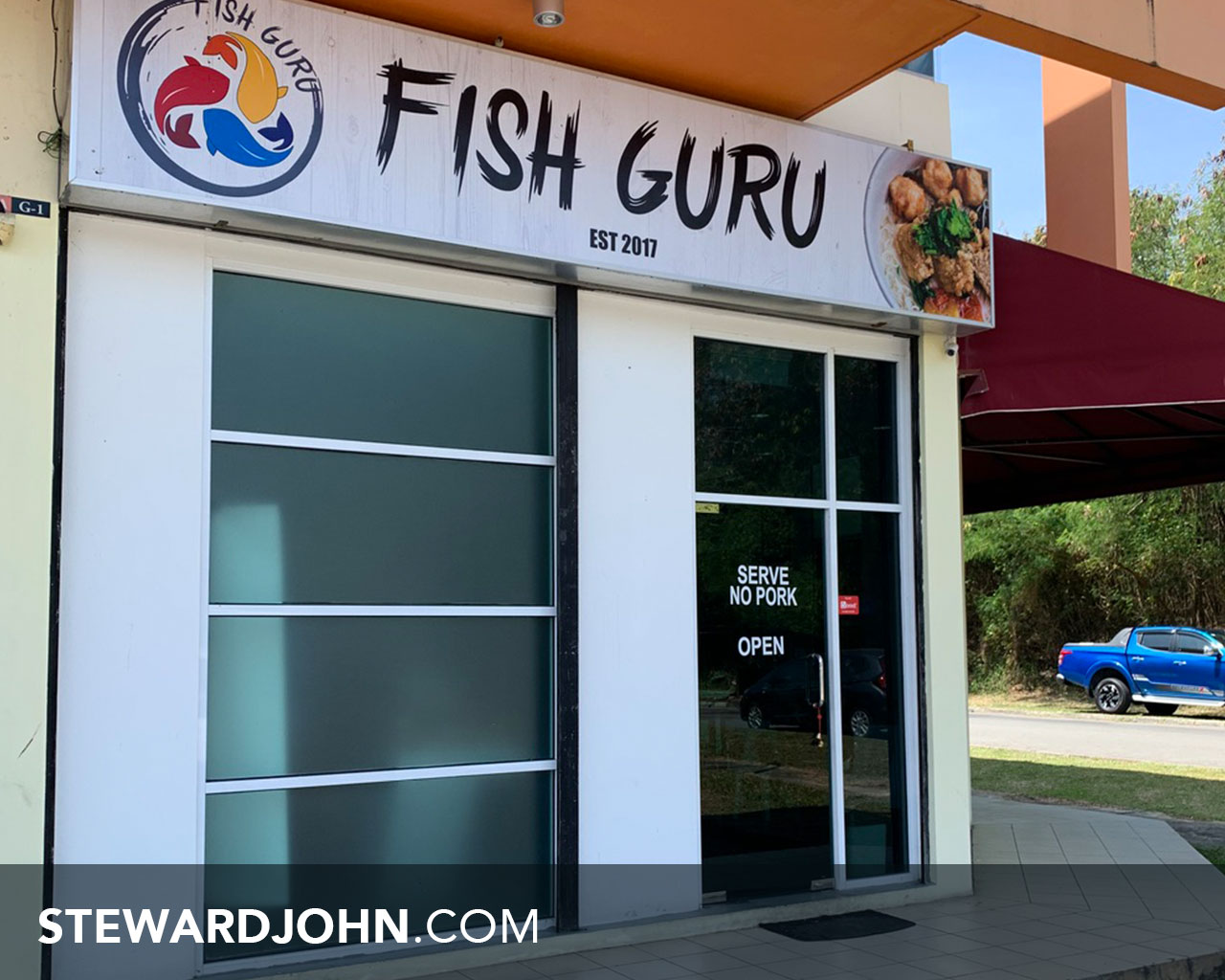Fish Guru restaurant serve no pork and halal friendly