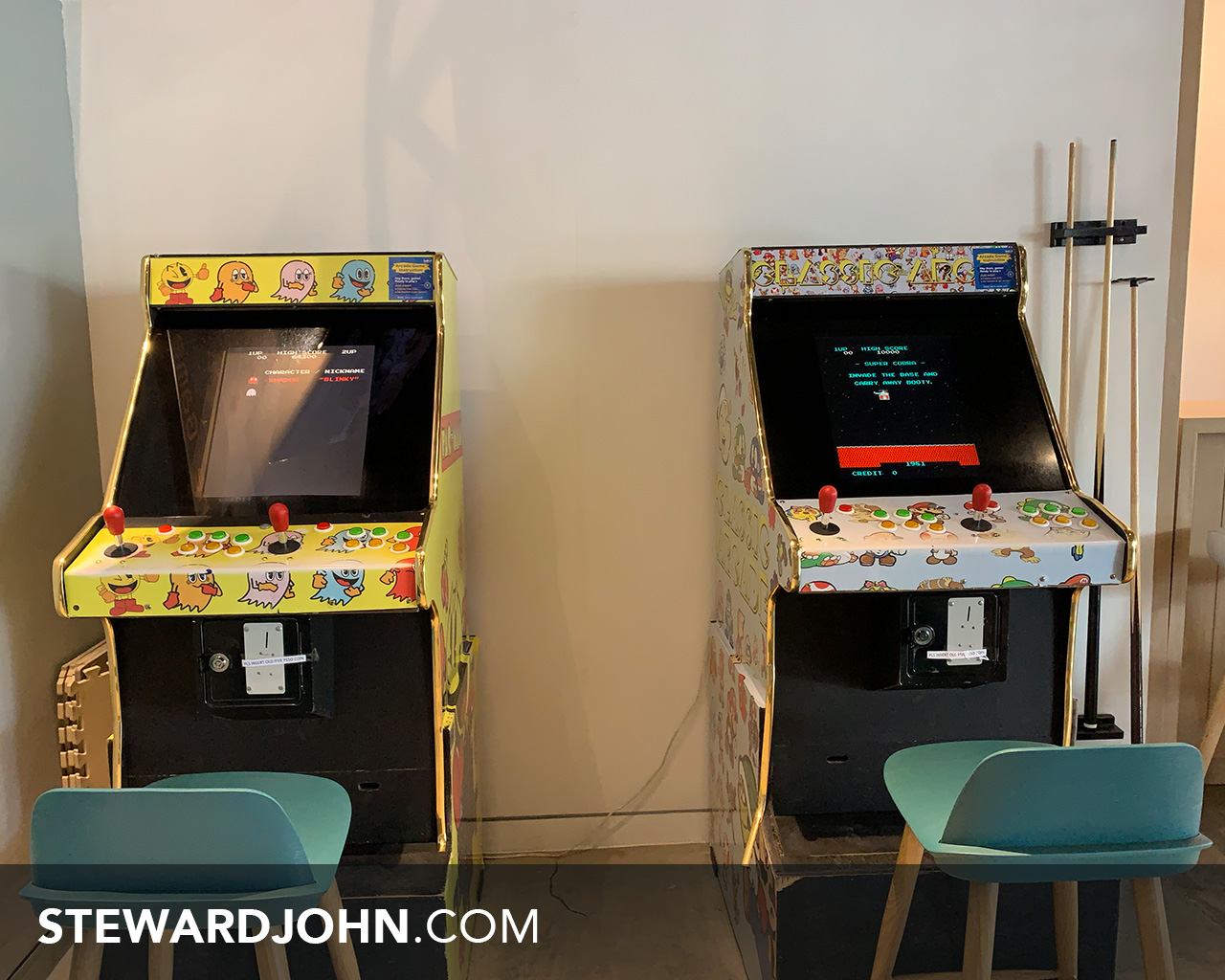 Arcade game anyone?