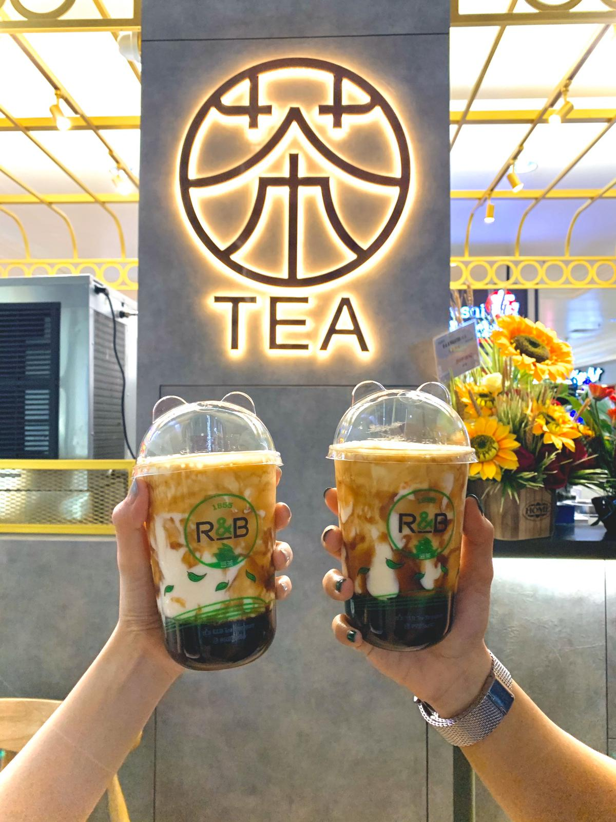 R&B Tea Best Bubble Tea